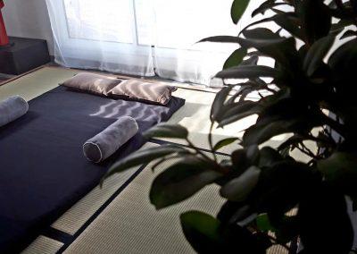 Salle détente et thérapie